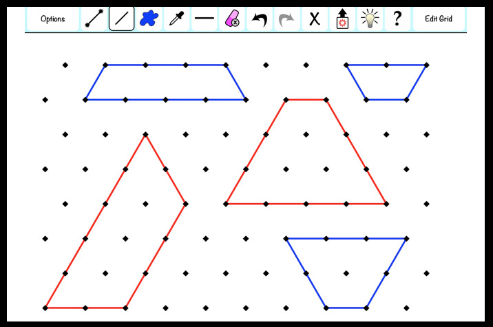 Isometric Areas: Geodraw