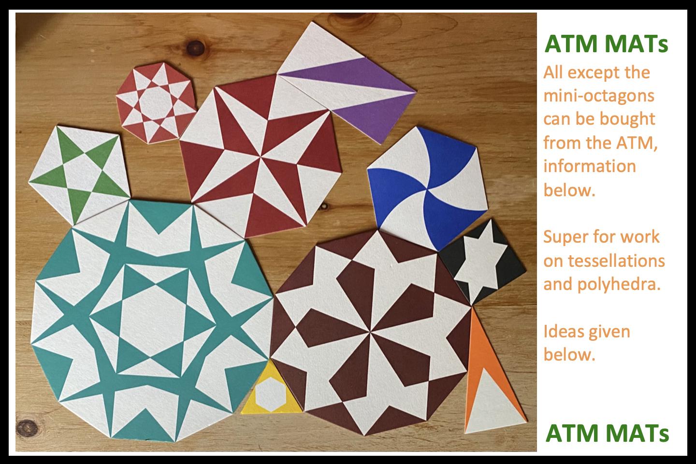 ATM MATs – Polygon and Polyhedra materials