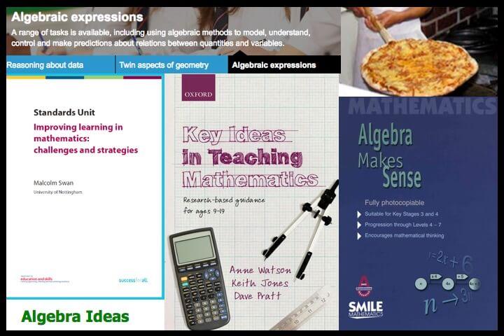 Algebra ideas