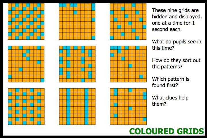 Coloured Grids