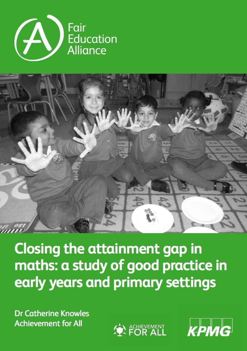 Closing the attainment gap in maths
