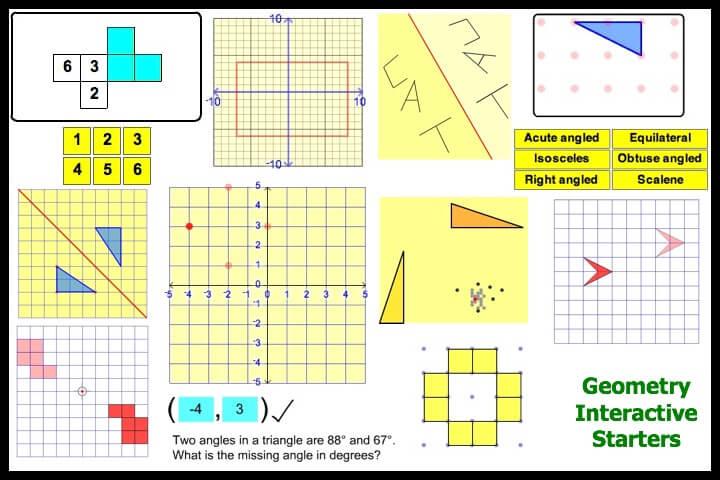 Interactive Geometry Starters