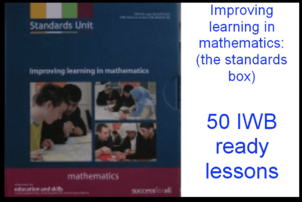 Improving Learning In Mathematics - The Standards Box Materials