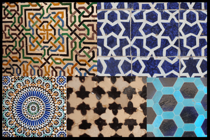 Islamic geometric designs
