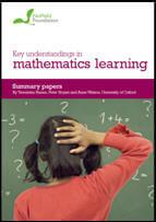 Key understandings in mathematics learning