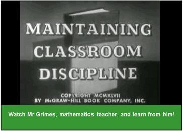 Maintaining Classroom Discipline