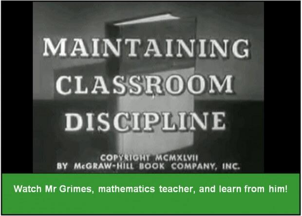 MaintainClassroomDiscipline