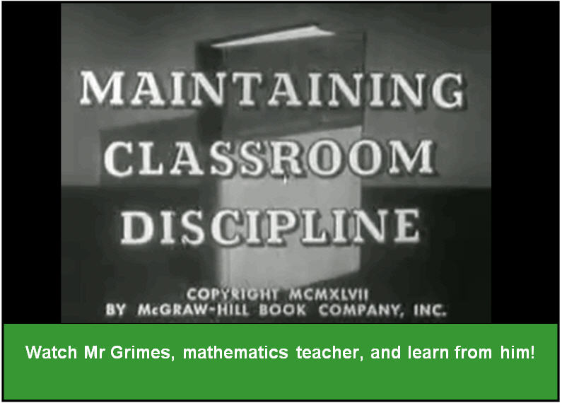 Maintaining Classroom Discipline