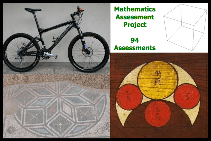 Mathematics Assessment Project Assessment Tasks