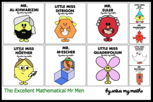 Mathematical Mr Men
