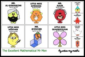 Mathematical Mr Men
