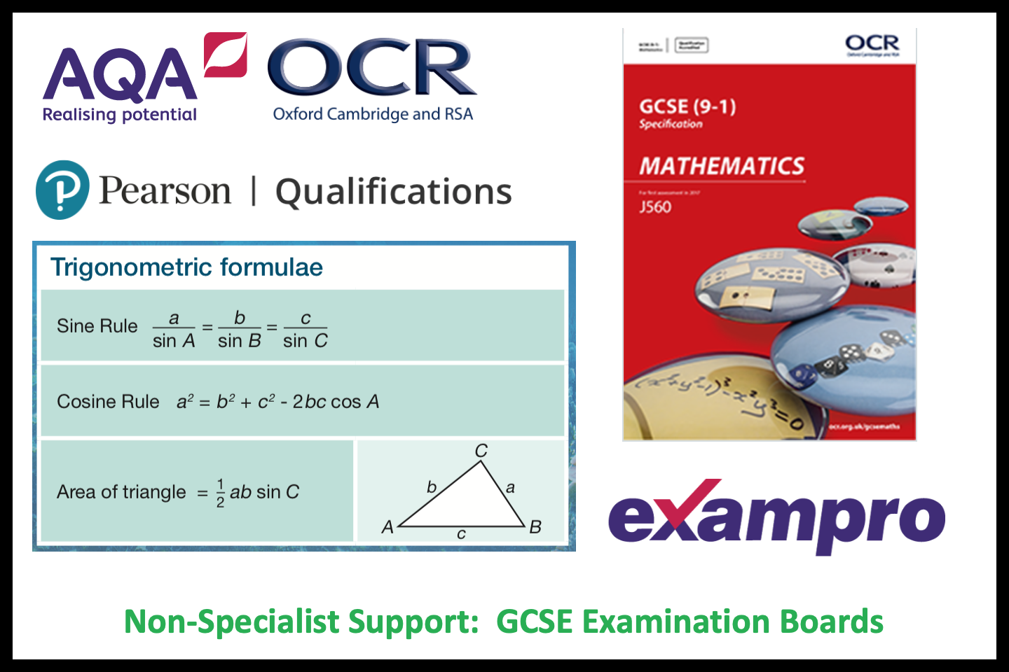 Non-Specialist Teachers: GCSE Exam Boards