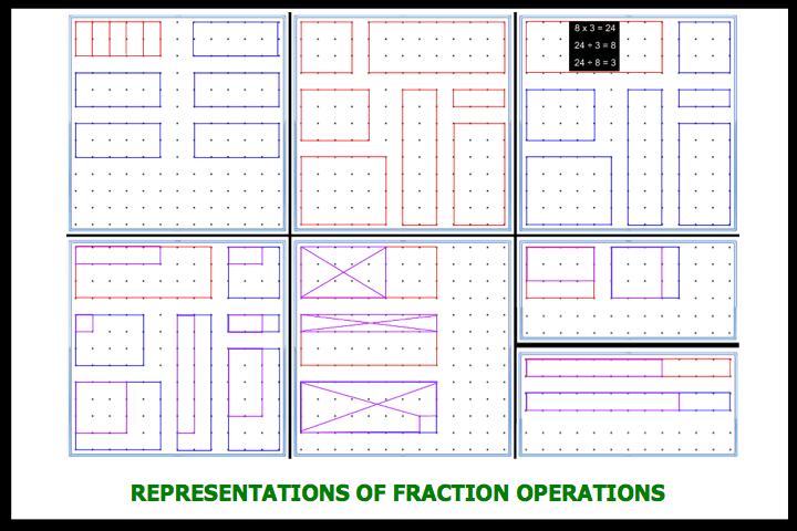 Problem solving fraction operations homework