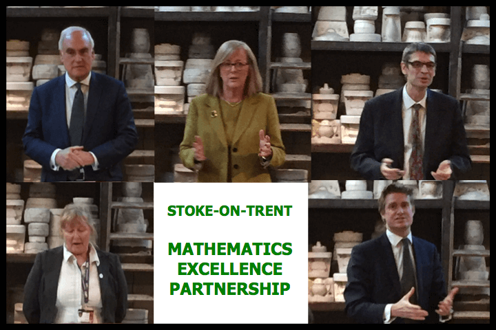 Stoke-on-TrentT Mathematics Education PartnershipP