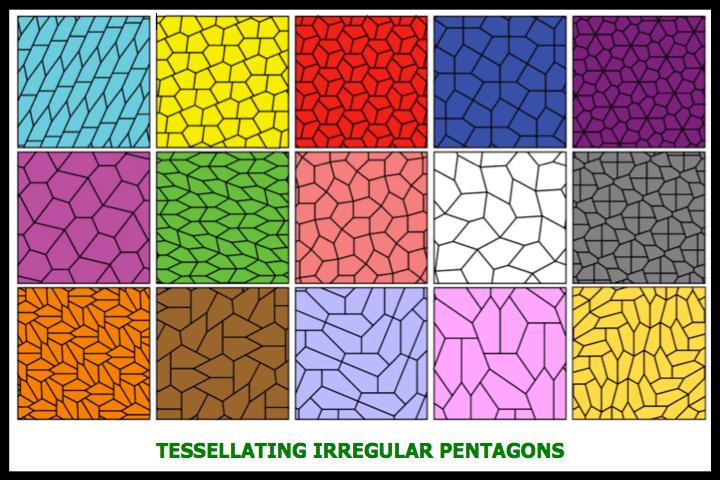 Tessellating Irregular Pentagons
